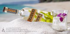Sammy's Beach Bar Rum : Branding : Logo, Package Design, Hangtags, Drink Recipe Cards, Print Ad and Website