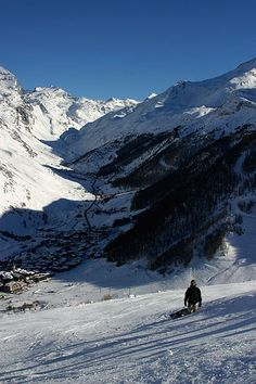 Face de Bellevarde, Val d'Isere - among Ten of the world's most terrifying ski descents in Europe and North America.