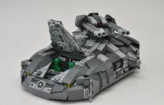 Aspis Tank - cockpit open