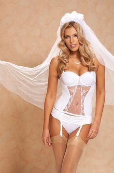 I like the wedding photo. I will bring my garter. I am not wearing a veil but I can bring a couple things I have for that day.