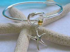 Silver Knot Bracelet Bridesmaids Friendship Unique Bracelet on Etsy, $28.00