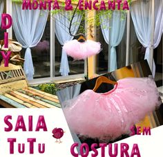 Saia de Tule TuTu sem costura diy - Monta Encanta Craft Stick Crafts, Easy Crafts, Boyfriend Crafts, Easter Bunny Decorations, Easter Crafts For Kids, Crochet Patterns For Beginners, Valentine's Day Diy, Learn To Crochet, Valentines Diy