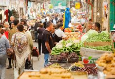 A foodie's guide to eating your way through Jerusalem's Machane Yehuda Market — a giant maze of food stalls, restaurants, and bars. Fresco, Israel Tours, Israel Trip, Old City Jerusalem, Stuff To Do, Things To Do, Fun Stuff, Israeli Food, Israel Travel