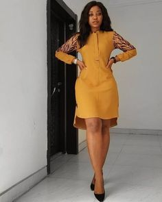 african attire for women outfits & african attire . african attire for men . african attire for women outfits . african attire for kids African Fashion Ankara, Latest African Fashion Dresses, African Print Fashion, Short African Dresses, African Print Dresses, Classy Work Outfits, Ankara Short Gown Styles, African Traditional Dresses, African Attire