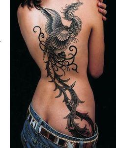 Tatuajes de Ave Fénix - Tendenzias.com