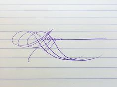Scope out this amaaaaaaazing signature.