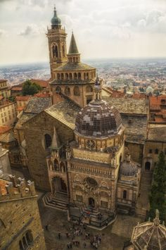 "Church in Bergamo by qwstarplayer Church in Bergamo, Lombardy, Italy """
