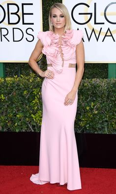 8293221da1 Golden Globes 2017  The Biggest Risk Takers of the Night - Carrie Underwood Golden  Globe