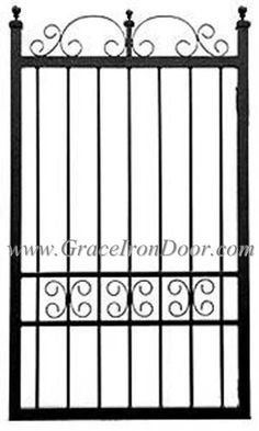 Rod iron gate designs