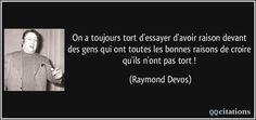 """Résultat de recherche d'images pour """"raymond devos tort raison"""""""