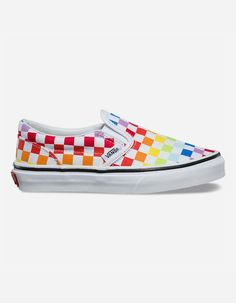 73c94d54036 VANS Rainbow Classic Slip-On Kids Shoes - MULTI - 326402957