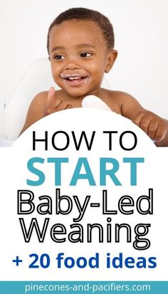 Are you wondering: How do you serve food with baby led weaning? What finger foods can I give my 6 month old? What are good baby led weaning foods? You've come to the right place! I'm sharing a list of baby-led weaning food ideas and a guide on how to get started. Safe, easy, and healthy first foods for your baby! #blw #babyledweaning #babyfoodideas Baby Led Weaning Breakfast, Baby Led Weaning First Foods, Weaning Foods, Baby Weaning, Baby Feeding Schedule, Baby Schedule, First Time Pregnancy, Pregnancy Tips, Lactation Recipes