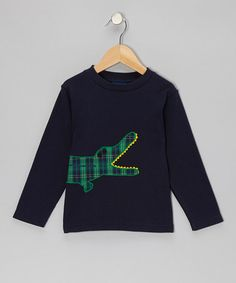 Take a look at this Blue Crocodile Tee - Infant, Toddler & Boys by Cotton Blu & Cotton Pink on #zulily today!