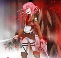 When Yuno Gasai joins Attack On Titan, THE TITANS DONT STAND A CHANCE