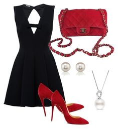 Designer Clothes, Shoes & Bags for Women Polyvore Fashion, Christian Louboutin, Cocktails, Chanel, Shoe Bag, Clothing, Stuff To Buy, Shopping, Beautiful