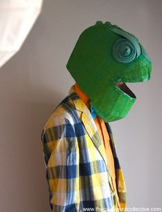 Cardboard Karma Chameleon by the Cardboard Collective