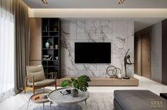 7 veces he visto estas magníficas muebles minimalistas. Apartment Interior, Living Room Interior, Home Living Room, Home Interior Design, Living Room Decor, Living Room Tv Cabinet, Home Hall Design, Tv Wall Decor, Wall Tv