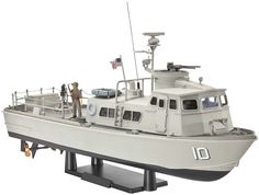 Revell US Navy Swift Boat (PCF) 1:48 Scale Model Boat - available from Hobbies, the UK's favourite online hobby store!