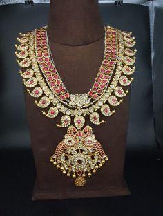 Indian Jewelry Earrings, Indian Jewelry Sets, India Jewelry, Temple Jewellery, Wedding Jewelry, Jewelery, Diamond Choker Necklace, Diamond Jewelry, Mango Mala Designs