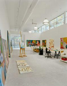 East Hampton Artist Studio, Interior View, East Hampton, 2007, BWArchitects