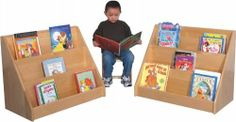 """Strictly for Kids SK369 Deluxe Maple Infant/Toddler Book Display by Strictly for Kids. $464.99. Manufactured to the Highest Quality Available.. Great Gift Idea.. Design is stylish and innovative. Satisfaction Ensured.. Premier Strictly for Kids Deluxe Maple Infant/Toddler Book Display. This is the best constructed unit on the market today! The extra deep and heavy unit resists tipping. Beautifully crafted with a 3/4"""" thick plywood back allows you to show this unit off w..."""