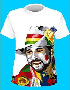 Camisetas-de-carnaval - Estampado y Publicidad Mens Tops, T Shirt, Fictional Characters, Textiles, Fashion, Street Art, Fiestas, Brazil, Craft