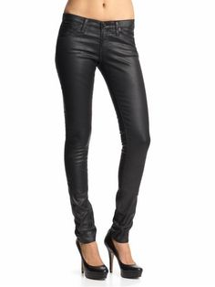 Faux leather pants: want these!