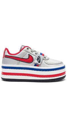 Nike Vandal 2K Platform Sneaker in Metallic Silver   University Red  be7b30c0f71
