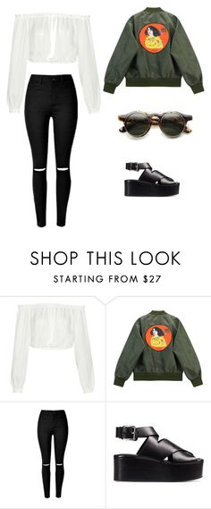 """today"" by mercelago on Polyvore featuring moda, Elizabeth and James, Chicnova Fashion i Alexander Wang"