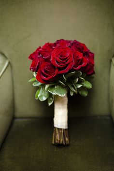 Red roses are so romantic, don't you think? Photography courtesy Rowell Photography.