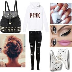 Chilled back long weekend Long Weekend, Keds, Victoria's Secret Pink, Chill, Victoria Secret, Collages, Polyvore Fashion, Style, Montages