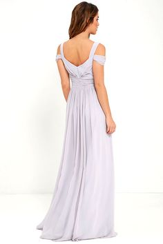 Elegant Grey Dress - Maxi Dress - Cocktail Dress - Prom Dress - $179.00