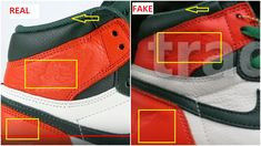 7101ed96254280 Fake Air Jordan 1 Solefly Miami Art Basel Spotted- Quick Ways To Identify It
