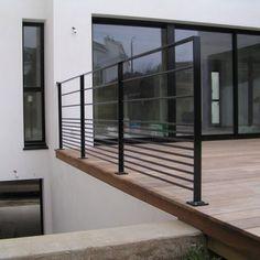 Garde-corps d'extérieur / en métal / à barreaux / pour terrasse CABOURG ESCALIER DESIGN 14