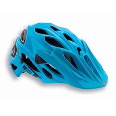 MET Parabellum Cyan & Black Helmet From Hargroves Cycles Xc Mountain Bike, Mountain Bike Helmets, Cycling Helmet, Bicycle Helmet, Hannah Barnes, Black Helmet, Full Face Helmets, Enduro, Discount Rugs
