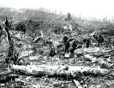 Battle of the Somme, Troops among the ruins of Beaumont Hamel after its capture. World War One, First World, Beaumont Hamel, Ww1 Battles, Ww1 Photos, Battle Of The Somme, Canadian Soldiers, Black Watches, Bad Picture