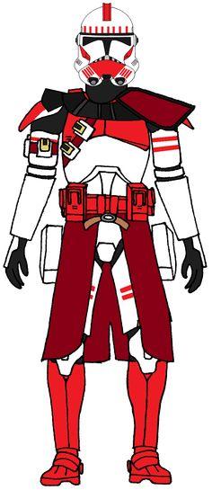 Clone Trooper Commander Thire 1