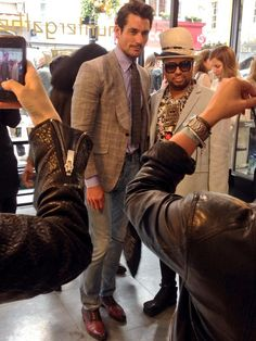 Twitter / gurd_loyal: David Gandy is in skinny faded jeans today. Totes hipster and ting. #lcm - june 16, 2014