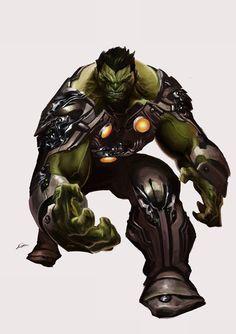 Planet Hulk by Alexander Lozano *