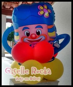 Decoração balões Patati