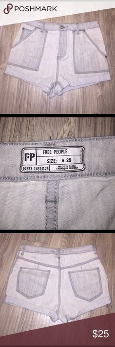 Brand new Free People denim shorts Brand new!! No tags but never been worn Free People Shorts Jean Shorts