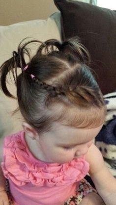 Peinados escolares #toddlerhairstyles
