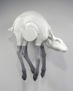 Beth Cavener Stichter's Metaphoric Animals | Beautiful/Decay Artist & Design