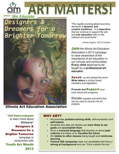 Get involved with Youth Art Month!