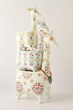 Giraffe Stack Pots