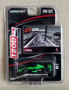 GreenLight 2013 Indycar – 27 James Hinchcliffe / Andretti Autosport. 1:64 scale. Limited edition. Die-cast metal chassis. Visit http://thegeniescave.co.uk/product-category/diecast/green-light/