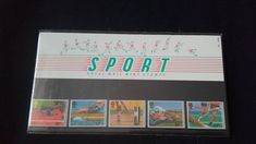 Royal mail stamps Sport 13th Commonwealth Games Edinburgh And World Mens Hockey Cup London stamp presentation pack No 173 by brianspastimes on Etsy