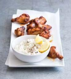 Recepty: Sýrový dip Dressing, Meat, Chicken, Breakfast, Recipes, Food, Morning Coffee, Recipies, Essen