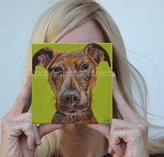 #custom #dog #portrait custom pet portrait dog #art by PopArtPetPortraits $125.00
