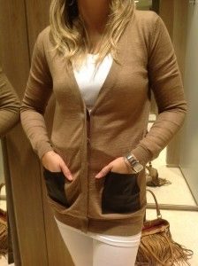 Fashion Essentials, Cape Town, Spin, Lipstick, Leather Jacket, Beige, Pockets, Winter, Sweaters